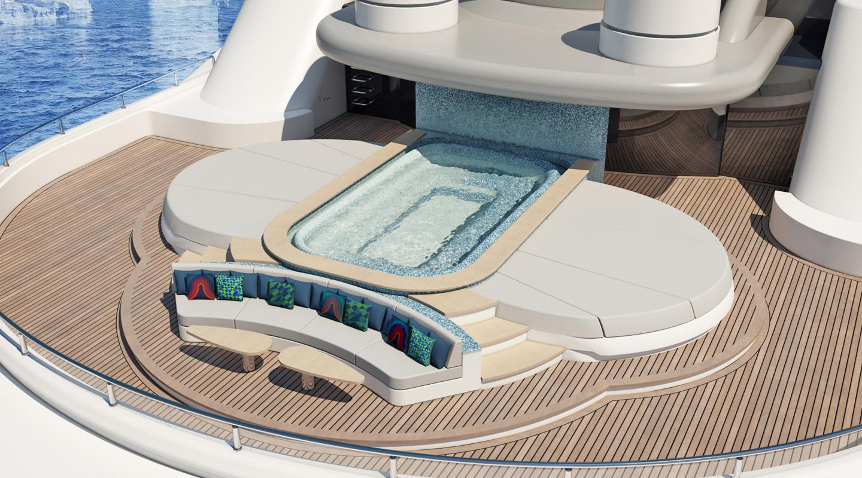 Yacht Exterior Deck Proposal
